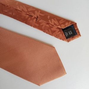Michael Kors Metallic Orange Tie